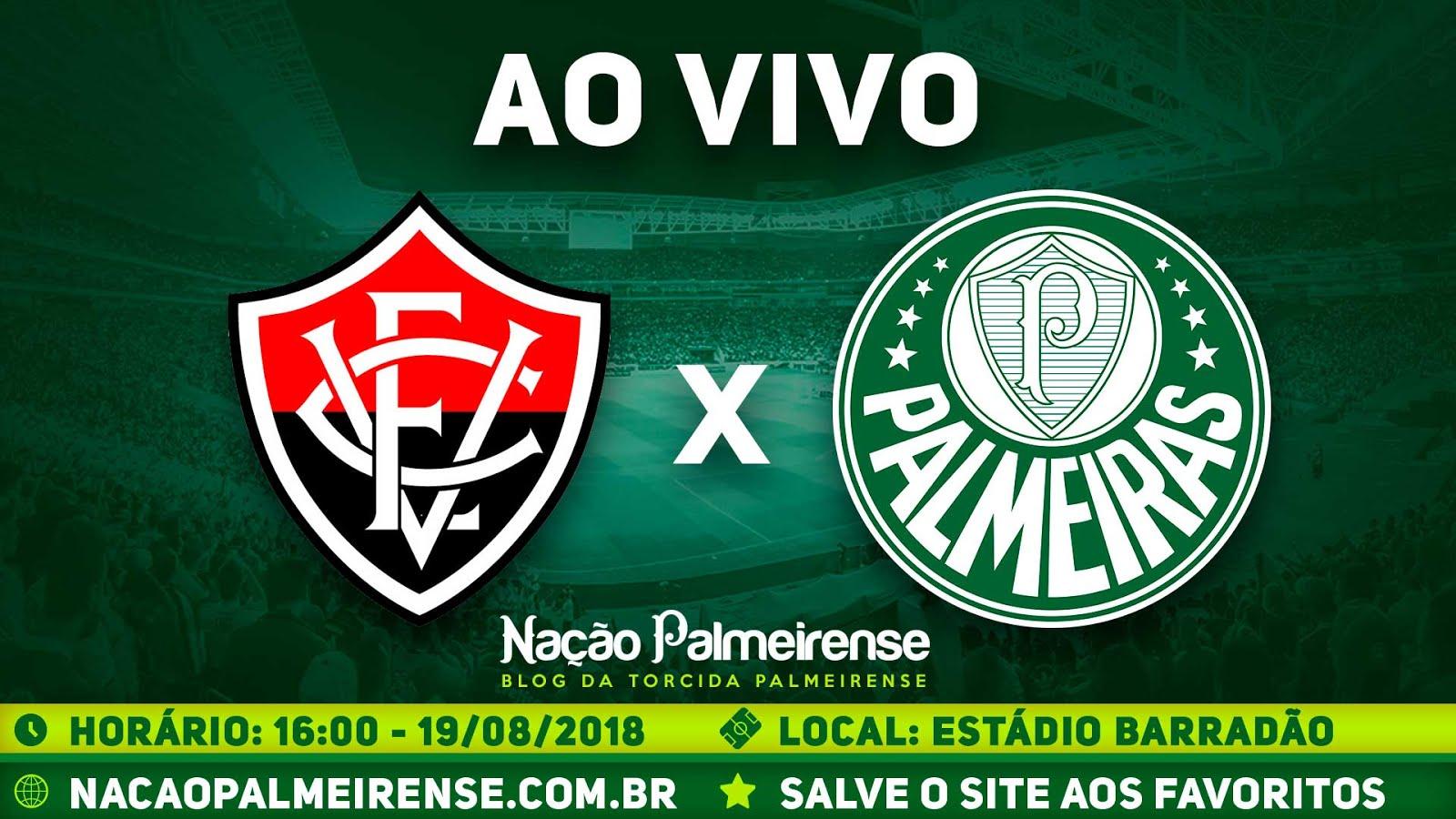 Assistir Vitória x Palmeiras Ao Vivo