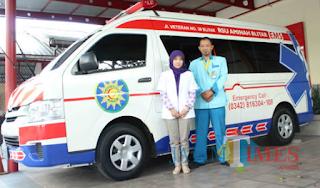 Fasilitas Ambulance Siap Siaga di Rumah Sakit Kediri