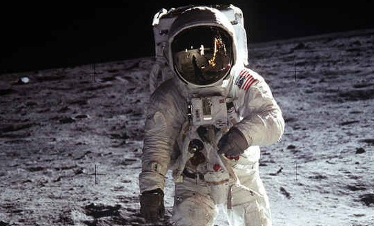 NASA Moon landing: How Apollo 11 astronauts saw 'MONSTERS' on the Moon - 'God it's huge!'