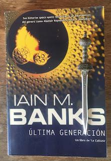 Portada del libro Última generación, de Iain M. Banks