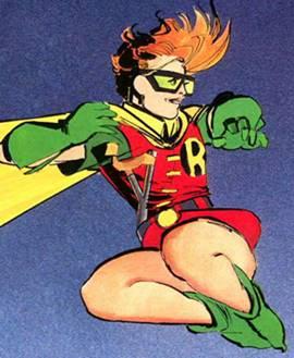 Carrie Kelley es Robin, de la Bat-Familia