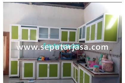 Jasa Buat Kitchen Set Alumunium Madiun Hub. 0812.3333.8545
