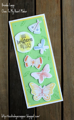 card created with Smiles from the Garden Stamp + Thin Cuts