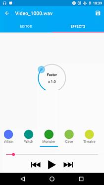 تطبيق Audio Recorder لعمل صدى صوت احترافي - صورة لقطة شاشة (2)