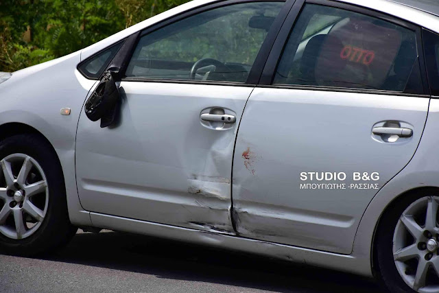 Τροχαίο με τραυματία στη Δαλαμανάρα Άργους