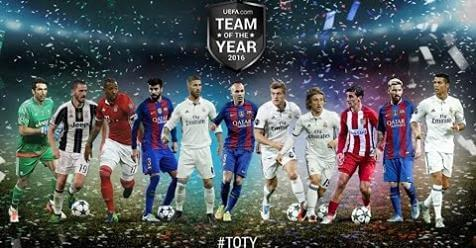 Intro Team Of The Year 2016 PES 2017