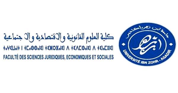 لائحة الماسترات المفتوحة بكلية الحقوق بأكادير الموسم 2019-2020