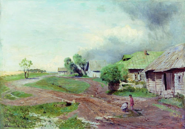 Исаак Ильич Левитан - Перед грозой. 1879