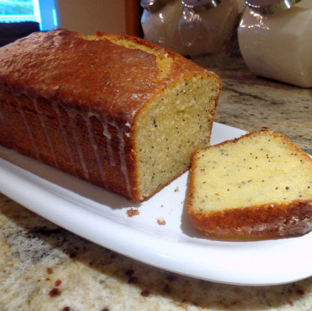 One Perfect Bite Lemon Poppy Seed Pound Cake