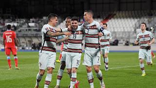 ملخص واهداف مباراة البرتغال ولوكسمبورج (3-1) تصفيات كاس العالم