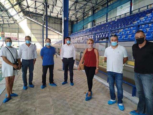 Γιάννενα: Στις Εγκαταστάσεις Του ΠΕΑΚΙ Και Στο Νέο Κλειστό Γυμναστήριο Των Ιωαννίνων Ο Γιώργος Μαυρωτάς