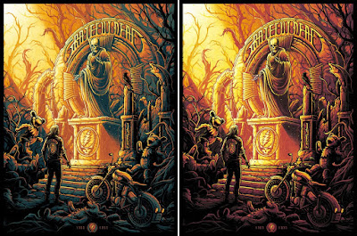 Grateful Dead Screen Print by Dan Mumford x Bottleneck Gallery