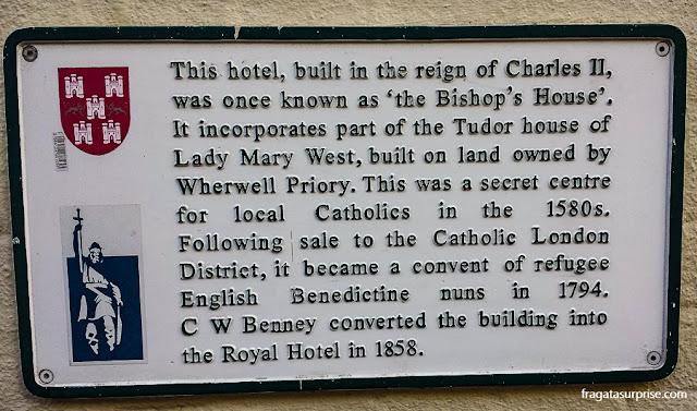 Hotel histórico em Winchester, Inglaterra