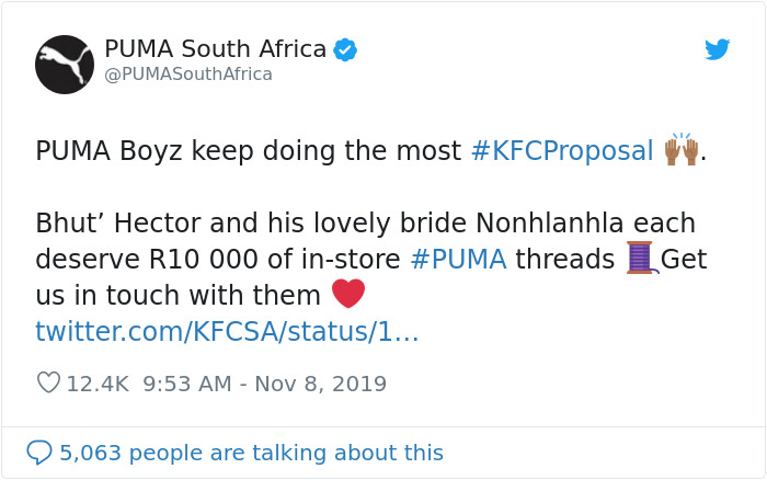 Man's Proposal To His Girlfriend In KFC Goes Viral As Journalist Tried To Shame Him