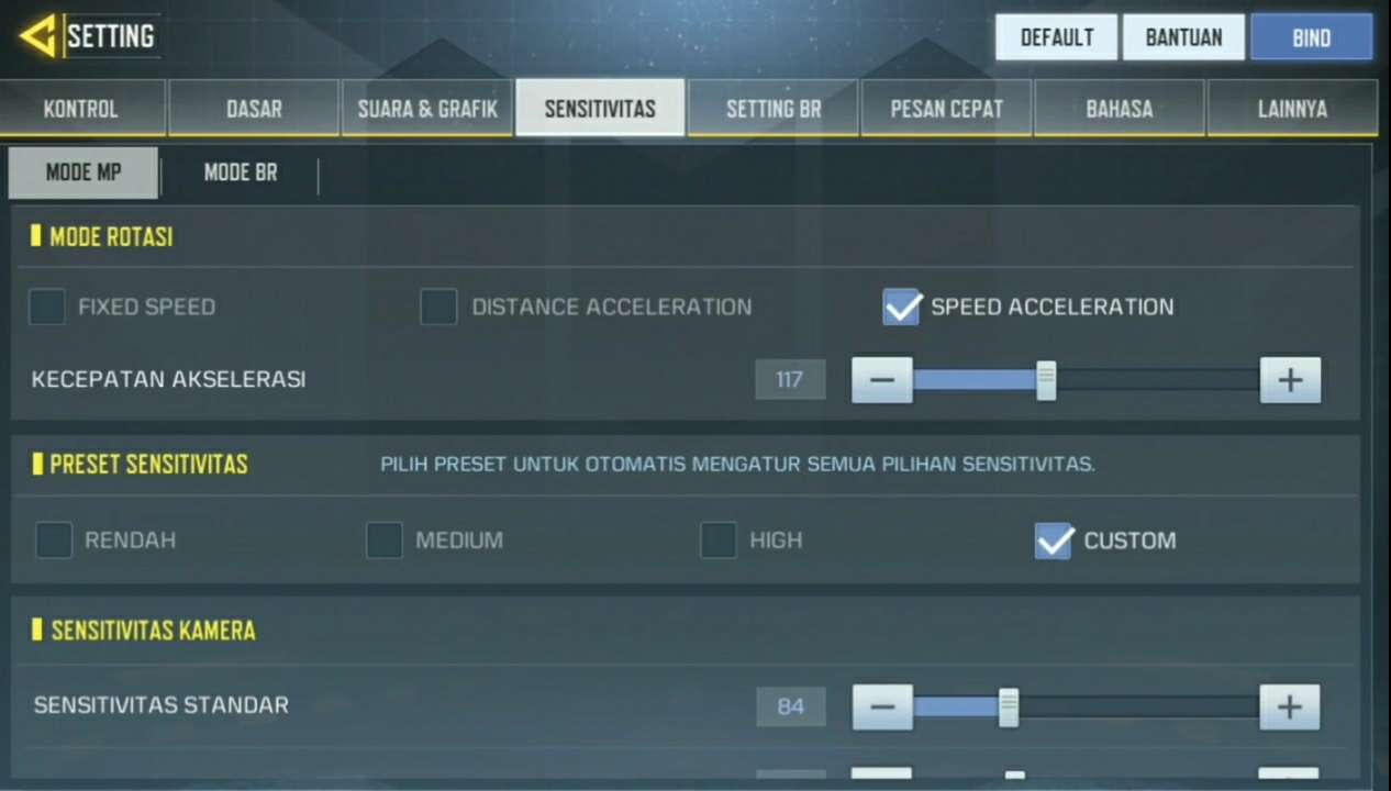Cara Setting Sensitivitas Terbaik Call Of Duty Mobile