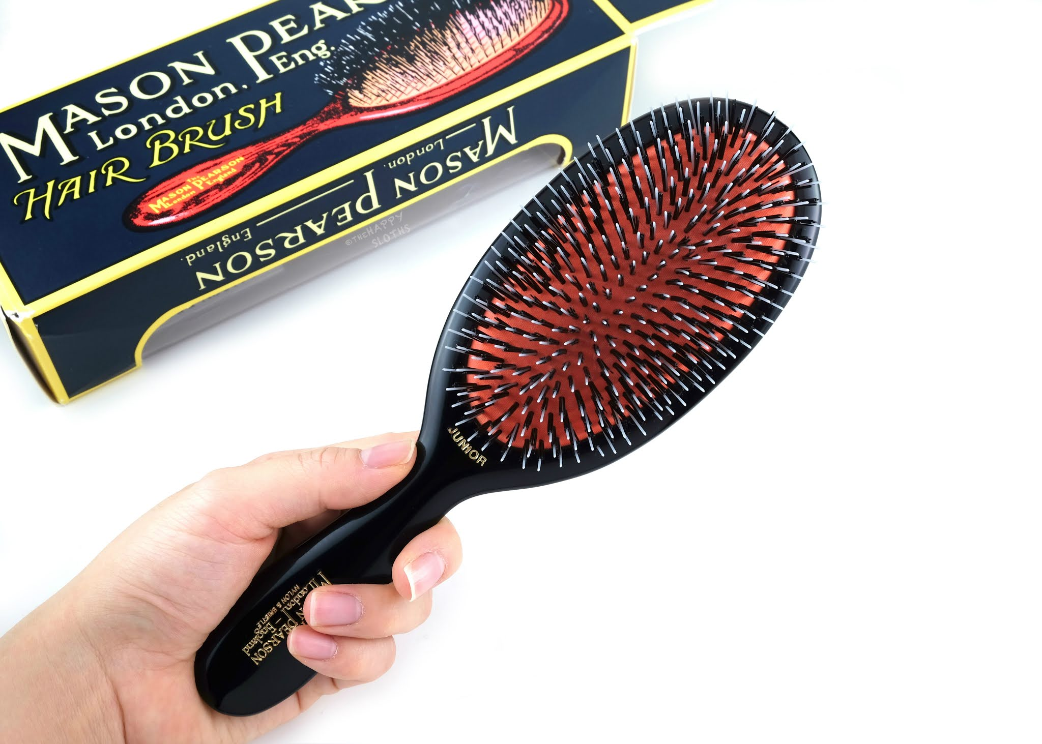 Mason Pearson | Medium Boar Bristle & Nylon Hairbrush (Junior BN2): Review