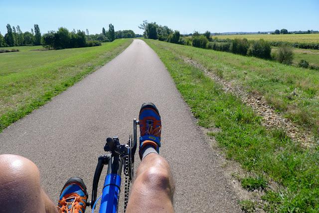 De Paris à Narbonne en vélo, Belles pistes cyclables