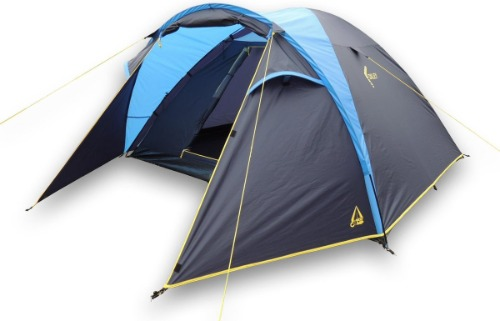 Be Camp Oxley 4 persoons tent test