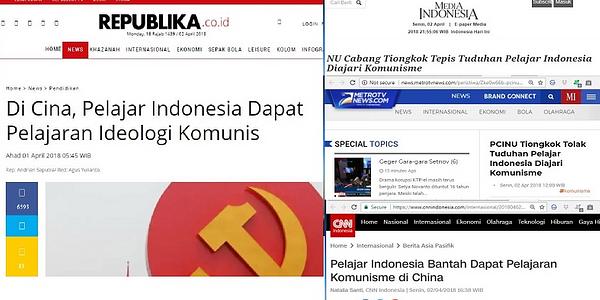 Setelah NU Tiongkok, PPI China Juga Tepis Tuduhan Pelajar Indonesia Diajari Komunisme