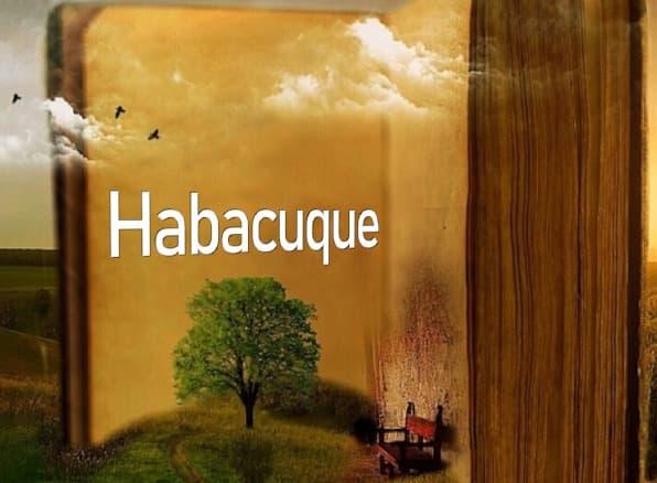 A imagem mostra o nome Habacuque escrito no livro da vida
