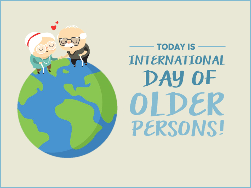 International Day of Older Persons Wishes Images download