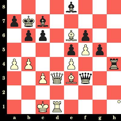 Les Blancs jouent et matent en 4 coups - Ernst Jacobson vs Heinrich Von Hennig, Göteborg, 1920