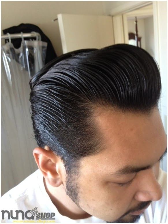 Pemakaian Pomade Murrays Hair Styling atau Minyak Rambut Nu Nile 1