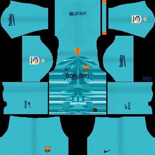 Fc Barcelona kits 2019/2020 Nike - kits Dream League Soccer 2019
