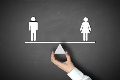 Igualdade de condições entre homens e mulheres.