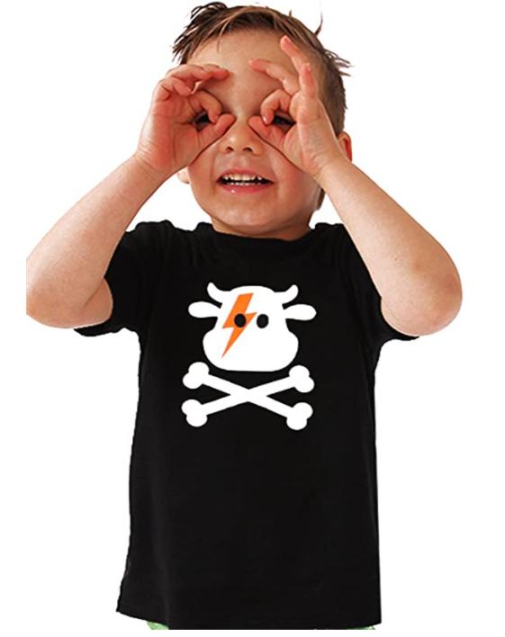 camiseta - niño - vaca - pirata - vacaslecheras.net
