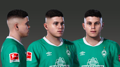 PES 2020 Faces Milot Rashica by Prince Hamiz