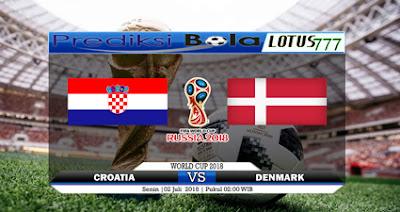 Prediksi Kroasia Vs Denmark 2 Juli 2018