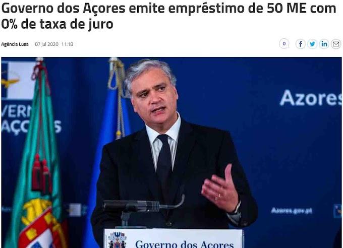 """A """"Autonomia"""" dos Açores com taxa zero"""