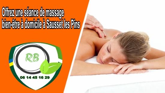 Offrez une séance de massage bien-être à domicile à Sausset les Pins;