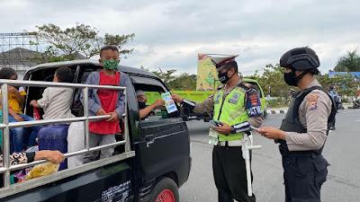 Operasi Patuh Gatarin 2020 Polres Lombok Barat