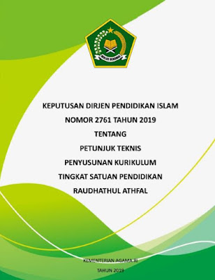 Juknis Penyusunan KTSP RA 2019