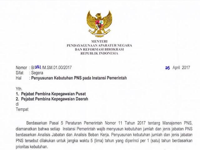 informasi tentang formasi Umum CPNS jabatan fungsional dan teknis terbaru tahun 2017