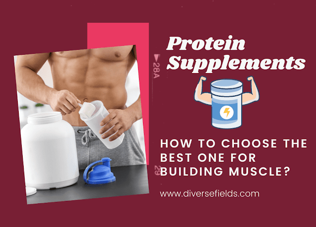 Protein Supplements How to Choose the Best One for Building Muscle