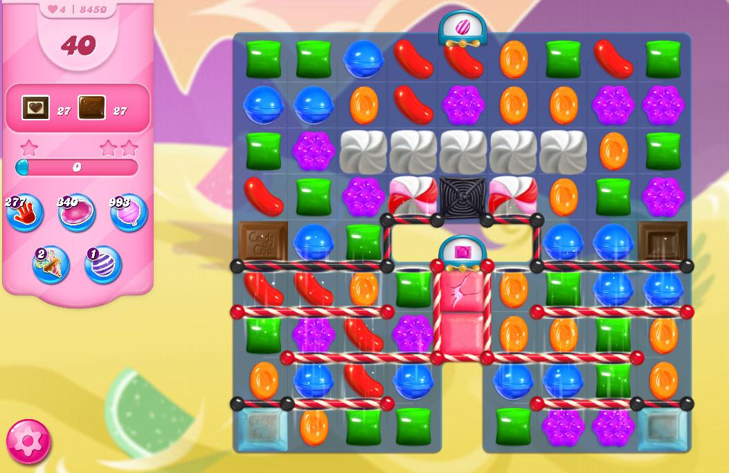 Candy Crush Saga level 8450