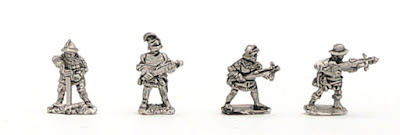 H-1023 WOTR Crossbowmen - SINGLES - (32 figures + 4 bases)