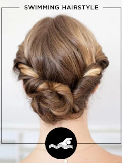 Workout Hairstyles - SWIMMING HAIRSTYLE