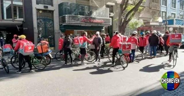 Repartidores venezolanos en Argentina denuncian que son víctimas de la Xenofobia