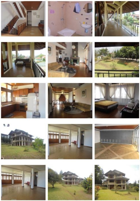 Villa Amanda Lembang - Villa 4 Kamar Halaman Luas