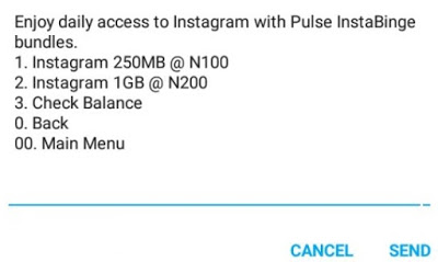 MTN InstaBinge Bundles Gives 250MB for N100 and 1GB for N200
