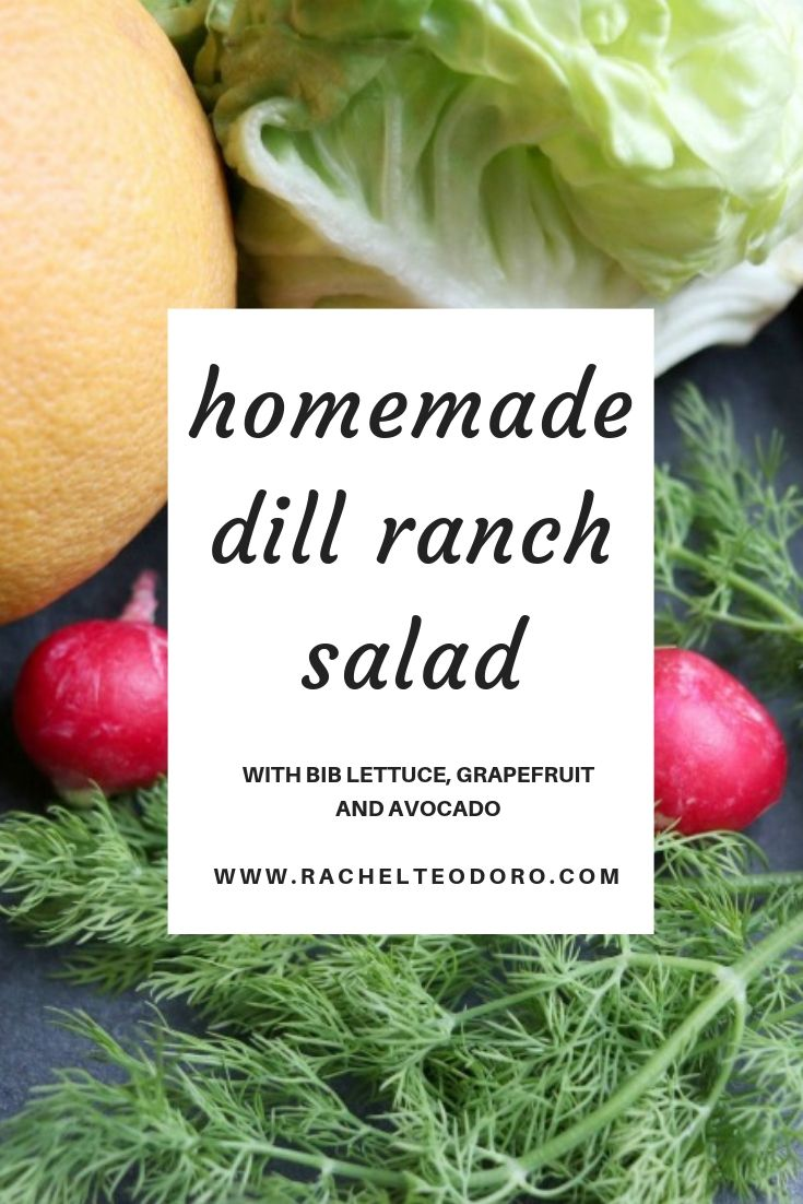 making your own dill ranch salad dressing with tips