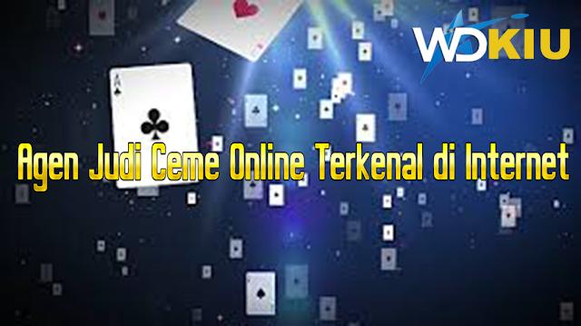 Agen Judi Ceme Online Terkenal di Internet