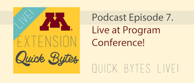 banner image: Quick Bytes Live Episode 7.