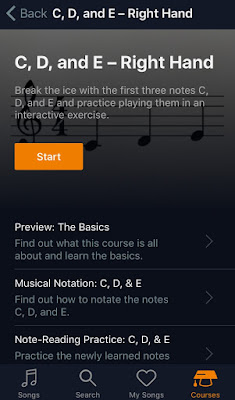 Reading sheet course details