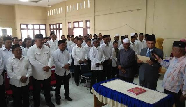Puluhan anggota Tuha Peut atau Badan Permusyawaratan Desa (BPD) dari 15 Gampong dalam Kecamatan Sawang dilantik oleh Bupati Aceh Utara untuk masa jabatan 2018-2024.
