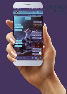 Skull King Theme For YOWhatsApp & GB WhatsApp